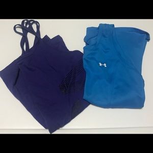 Bundle of 2 workout tops: Under Armour and VS